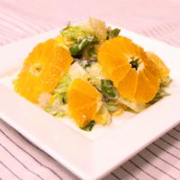 ポンカンとセロリのヨーグルトサラダ