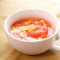 酸味が決め手のトマトの中華スープ