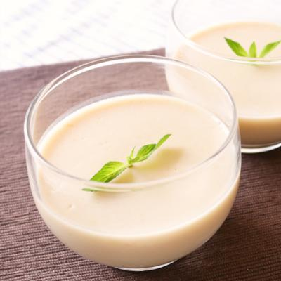 トロピカルな甘さ マンゴーココナッツプリン