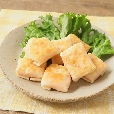 餃子の皮で 明太ポテト包み焼き