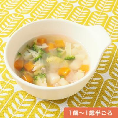 ゴロゴロ野菜の和風ポトフ
