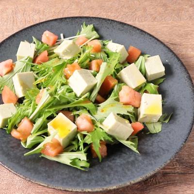 アボカド豆腐のサラダ