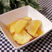 レンジで簡単!お弁当におやつに!サツマイモのオレンジ煮