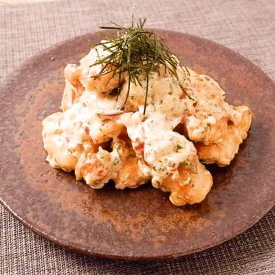 ご飯がすすむ 和風鶏マヨ