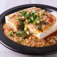 かける麻婆豆腐