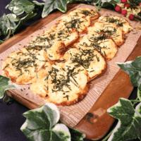 餃子の皮で作る!明太マヨチーズピザ