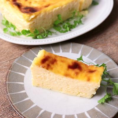 ヨーグルトで 濃厚チーズケーキ風