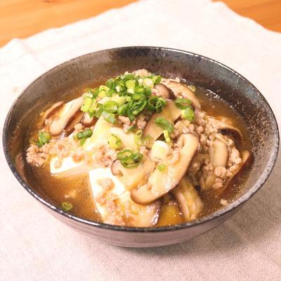 中華風あんかけ豆腐