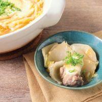 白菜と大根のコク旨味噌チーズ鍋