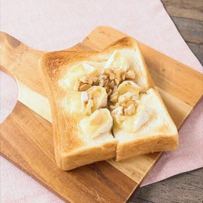 カマンベールとろける ハニーナッツトースト