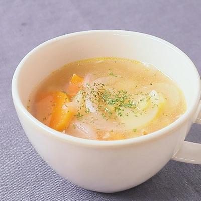 ブーケガルニで 野菜たっぷりスープ