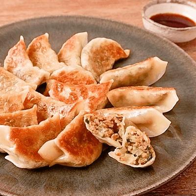 大豆ミートで作る焼き餃子