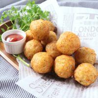 塩鮭のポテトチーズボール
