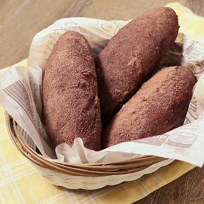 簡単 ココア揚げパン