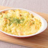 長芋と明太マヨのふわふわチーズ焼き