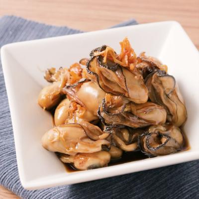たっぷり生姜の牡蠣のしぐれ煮