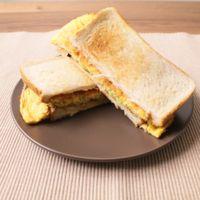 韓国屋台の味  キャベツ卵サンド
