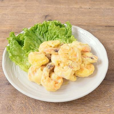 天ぷら粉で簡単 海老マヨネーズ