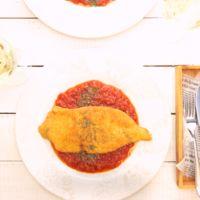 ミラノ風チキンカツレツ