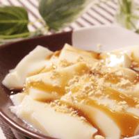 豆乳豆腐の和風スイーツ