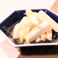 さっぱり美味しい!長芋の柚子漬け