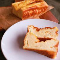 手作りカッテージチーズケーキ
