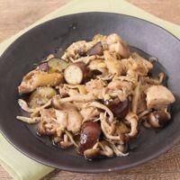 手作りネギ塩だれで 鶏もも肉と野菜の炒め物