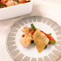 常備菜に 鶏もも肉とピーマンのエスニック炒め