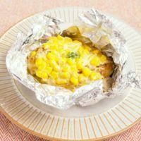 クリーミー 鶏肉のコーンマヨネーズホイル焼き