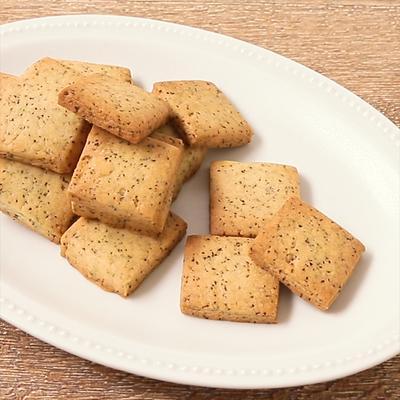 混ぜて焼くだけ 紅茶のクッキー