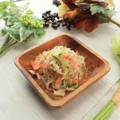 ニンニク香る 鶏ささみと春雨の中華サラダ