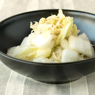 白菜とじゃこの中華風サラダ