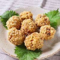 大葉と生姜が香る おつまみイカ団子