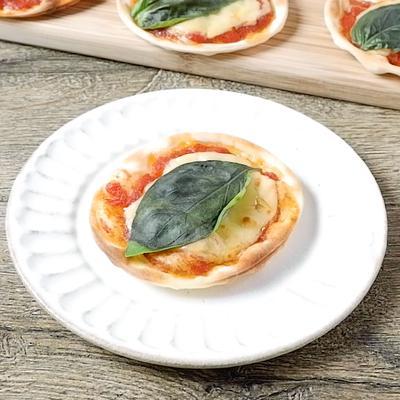 餃子の皮で簡単ピザ