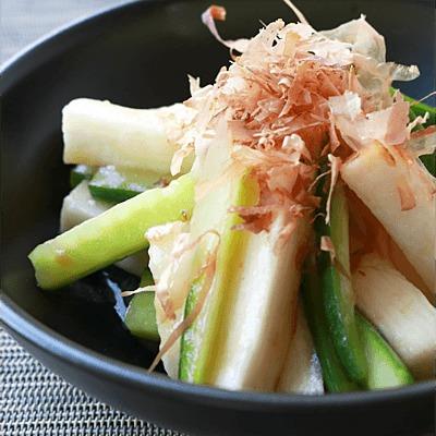 長芋ときゅうりの梅和え