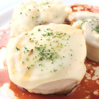 チーズがとろーり エノキのバタぽんステーキ