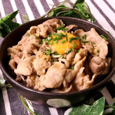 ガリバタポン豚丼