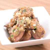 生姜味噌の鶏レバー煮
