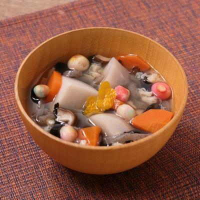 貝柱缶で簡単 会津名物こづゆ風