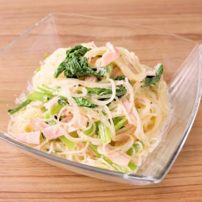 小松菜のさっぱり春雨マヨサラダ