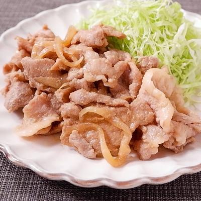 下味冷凍 豚の生姜焼き