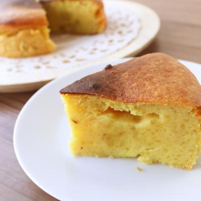 ベイクドさつまいもケーキ