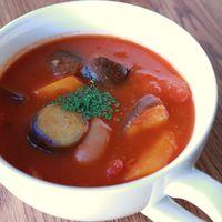 生姜たっぷりトマトスープ