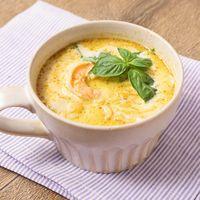レンズ豆のグリーンカレースープ