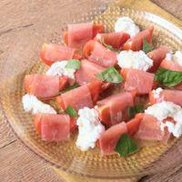 フルーツトマトの生ハムマリネ