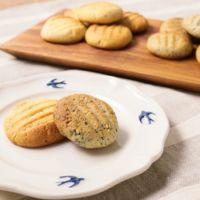 スキムミルクとごまのクッキー