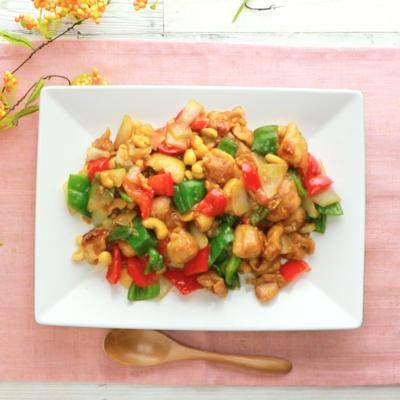 中華の定番 鶏肉のカシューナッツ炒め