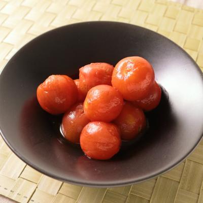 即席ポン酢で簡単ミニトマトのピクルス