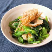 レンジで簡単 小松菜とちくわのゆず胡椒和え