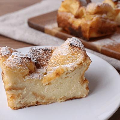 ひたすだけで簡単 食パンでパウンドケーキ